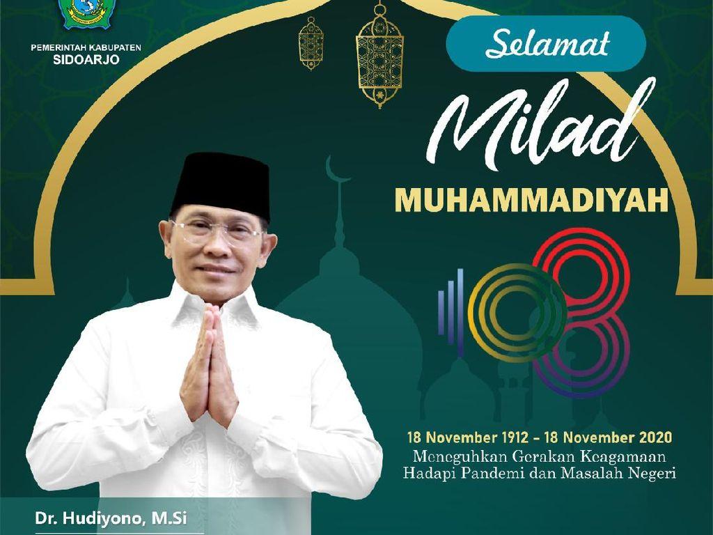 Harapan Pj Bupati Sidoarjo untuk Muhammadiyah yang Milad ke-108