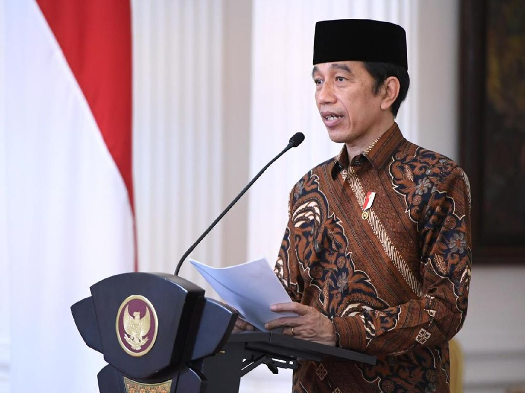 Jokowi Singgung RUU Ciptaker di Forum Google for Indonesia 2020