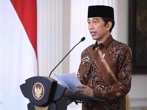 Di Milad Muhammadiyah 108, Jokowi Bicara soal Vaksinasi COVID-19