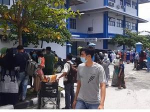 Gempa M 5,2 di Sumbar, Pasien RSUP Dr M Djamil Padang Evakuasi Diri