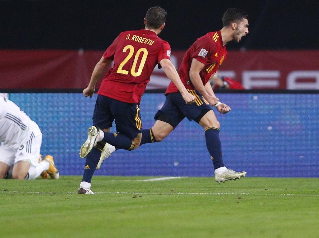 Spanyol Sukses Bikin Jerman Tak Berkutik