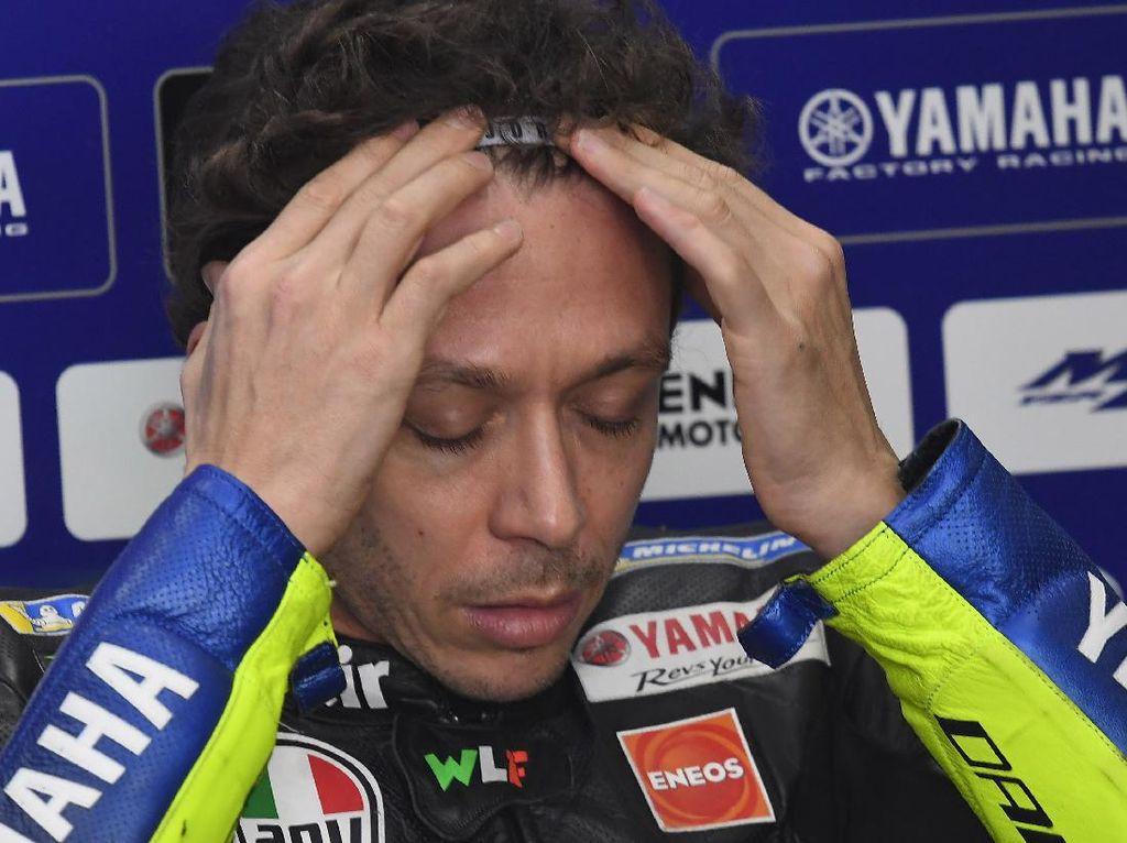 Momen-momen Terburuk Valentino Rossi di MotoGP 2020