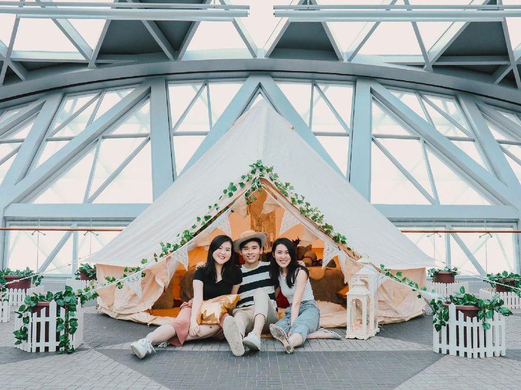 Changi Buka Wisata Glamping, Traveler Bisa Menginap di Bandara