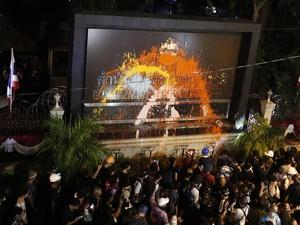 Pemimpin Demonstran Thailand Didakwa Hina Monarki, Terancam 15 Tahun Bui