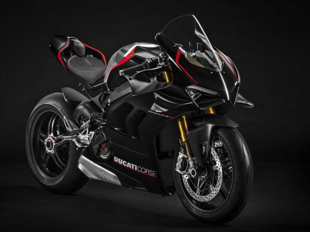 Gahar! Ducati Panigale V4 SP yang Cuma Cocok buat Sirkuit