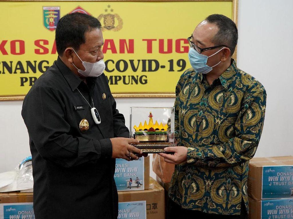 Dukungan untuk Perang Lawan COVID-19 di Lampung