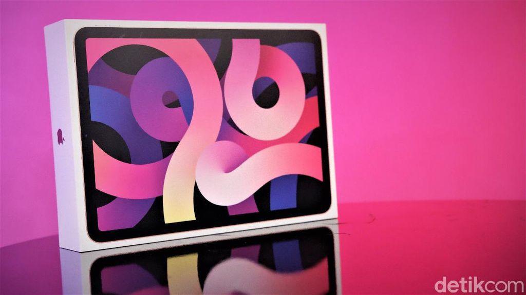 Unboxing iPad Air Generasi 4,  Spek Menggoda Harga Rp 11 Jutaan