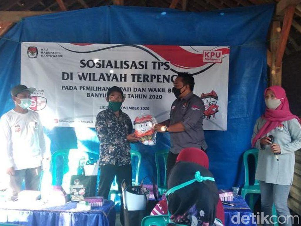 KPU Banyuwangi Sosialisasi Pilbup 2020 ke Daerah Terpencil