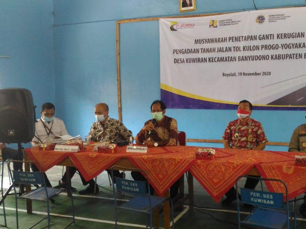 Proyek Tol Yogyakarta-Solo Masuk Tahap Ganti Rugi