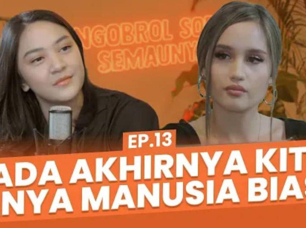 NSS: Cinta Laura Cerita ke Putri Tanjung soal Karier-Takut Balik ke RI