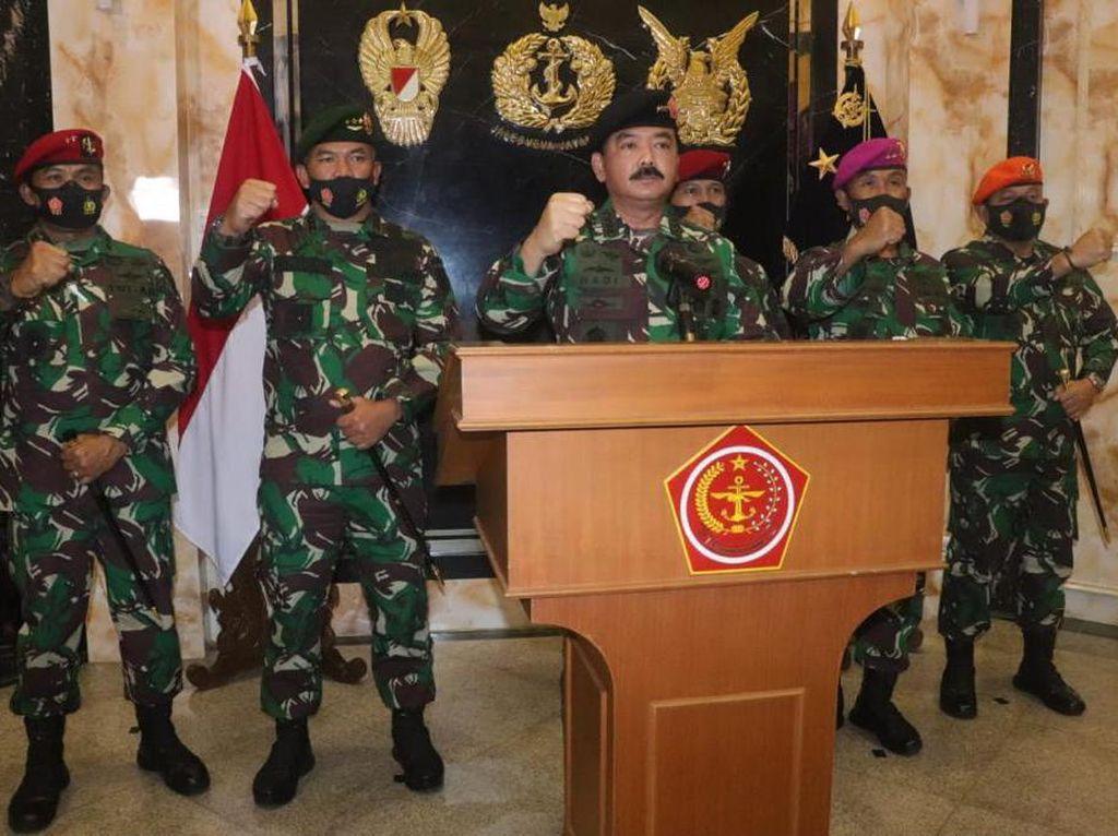 TNI Jelaskan soal Panglima Cek Pasukan Khusus dan Antisipasi Politik Identitas