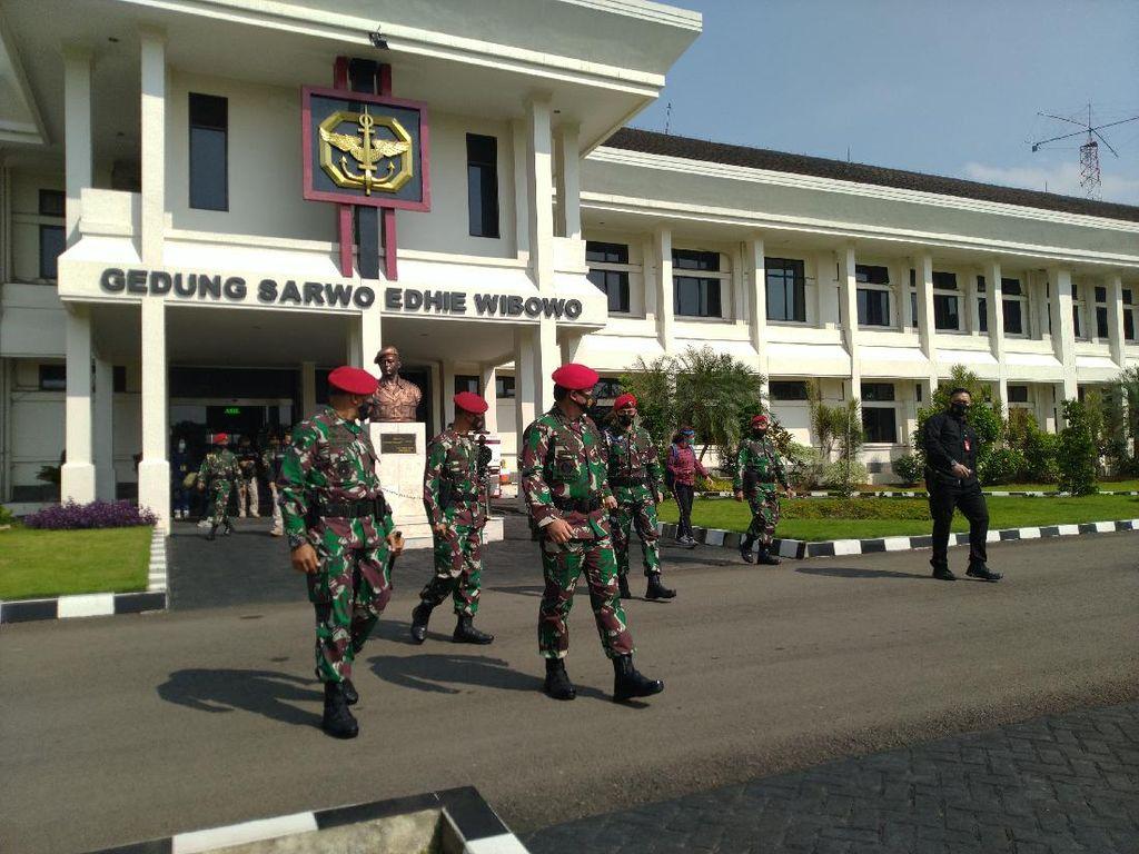 Panglima TNI Sambangi Markas Kopassus, Cek Kesiapan Pasukan Baret Merah