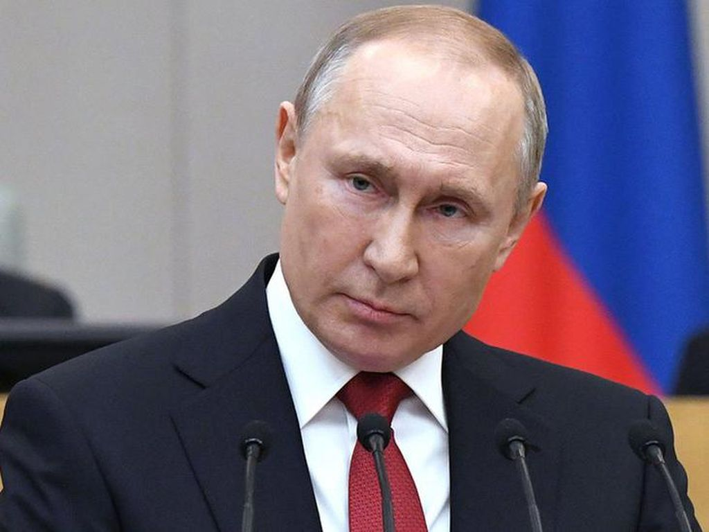 Vladimir Putin Digosipkan Punya Anak Remaja dengan Wanita Pemilik Klub Malam