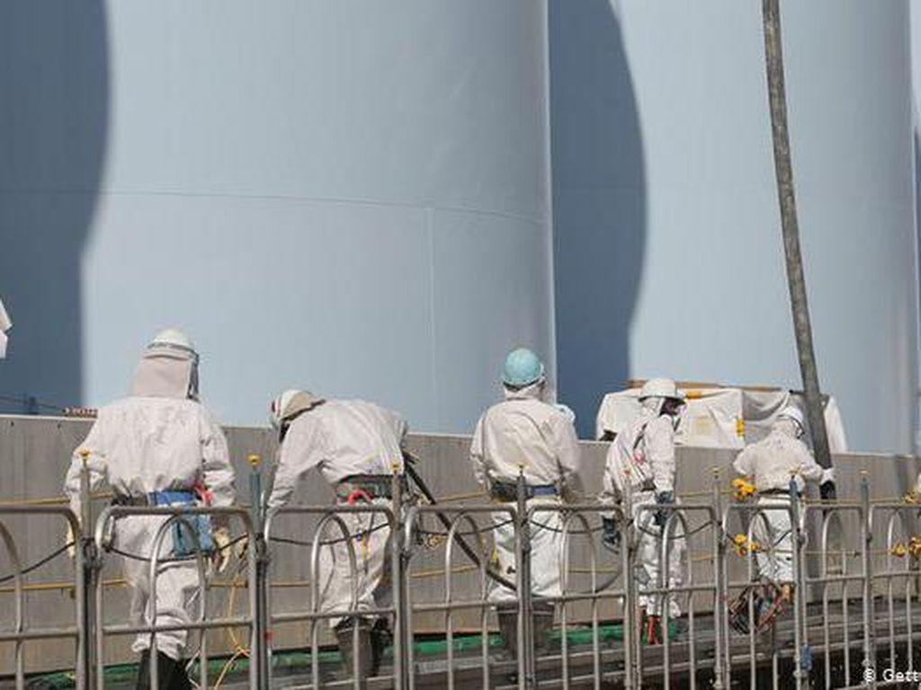 Air Pendingin Reaktor Fukushima Akan Dialirkan ke Samudra Pasifik
