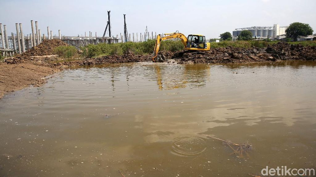 Pembangunan Waduk Rawa Malang untuk Atasi Banjir di Cilincing