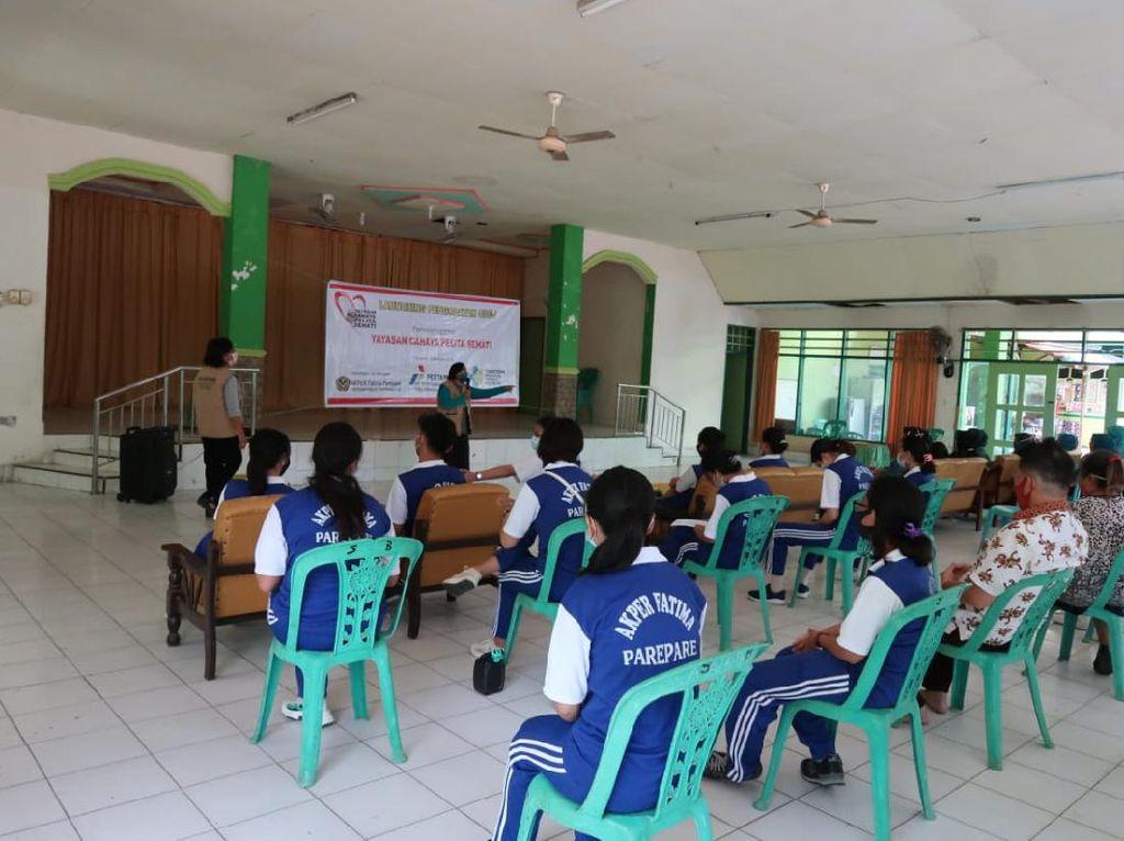 Pertamina Sulawesi Beri Pengobatan untuk ODGJ di Parepare