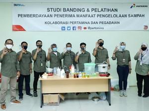 Pertamina Fasilitasi Bank Sampah untuk Produksi Energi Terbarukan