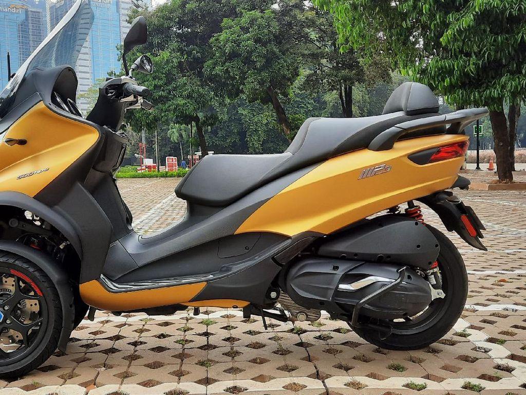 Motor 3 Roda Piaggio MP3 500 HPE Sport Advance: Bisa Berdiri Tanpa Standar dan Ada Gigi Mundur