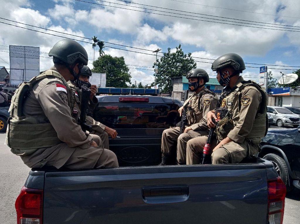 Polres Mimika Patroli di HUT KNPB: Ada Kumpulan Massa, Kami Bubarkan