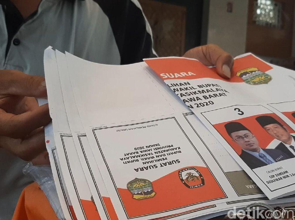 KPU Tasikmalaya Temukan 5.000 Surat Suara Rusak