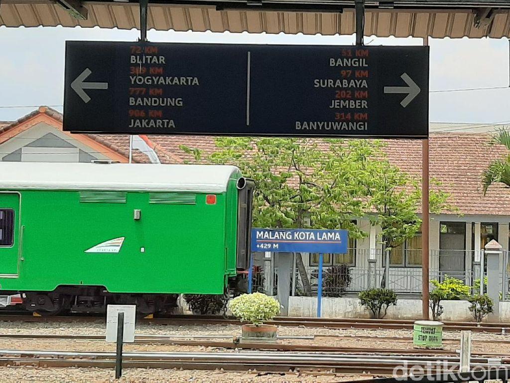 Beda Ketingggian Stasiun Diduga Jadi Penyebab 7 Gerbong KA Meluncur Sendiri