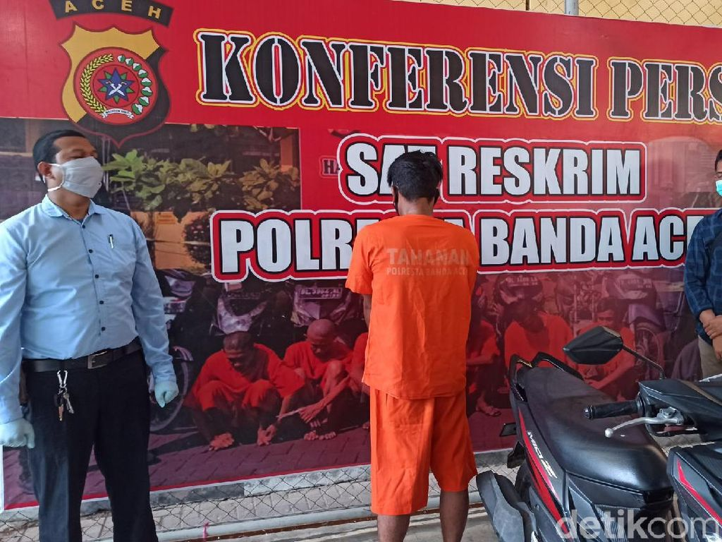 Suami Pembunuh Pria Dituduh Selingkuhan Istri di Aceh Serahkan Diri