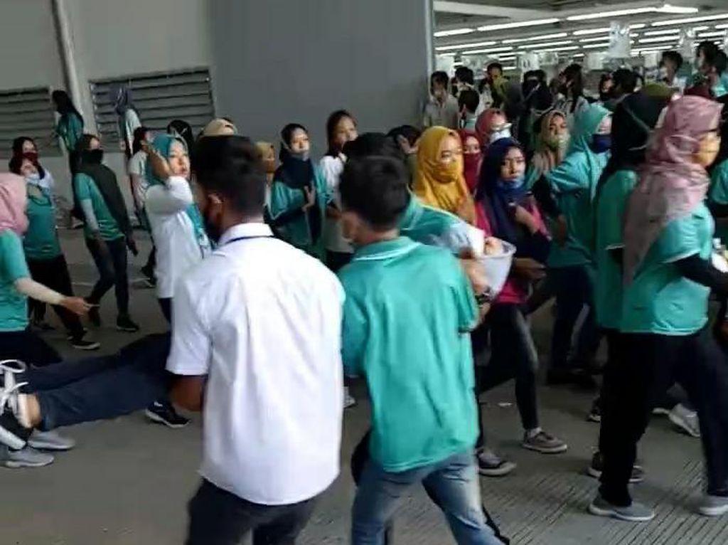 Teriak-teriak Histeris, Puluhan Karyawati Pabrik di Boyolali Kesurupan