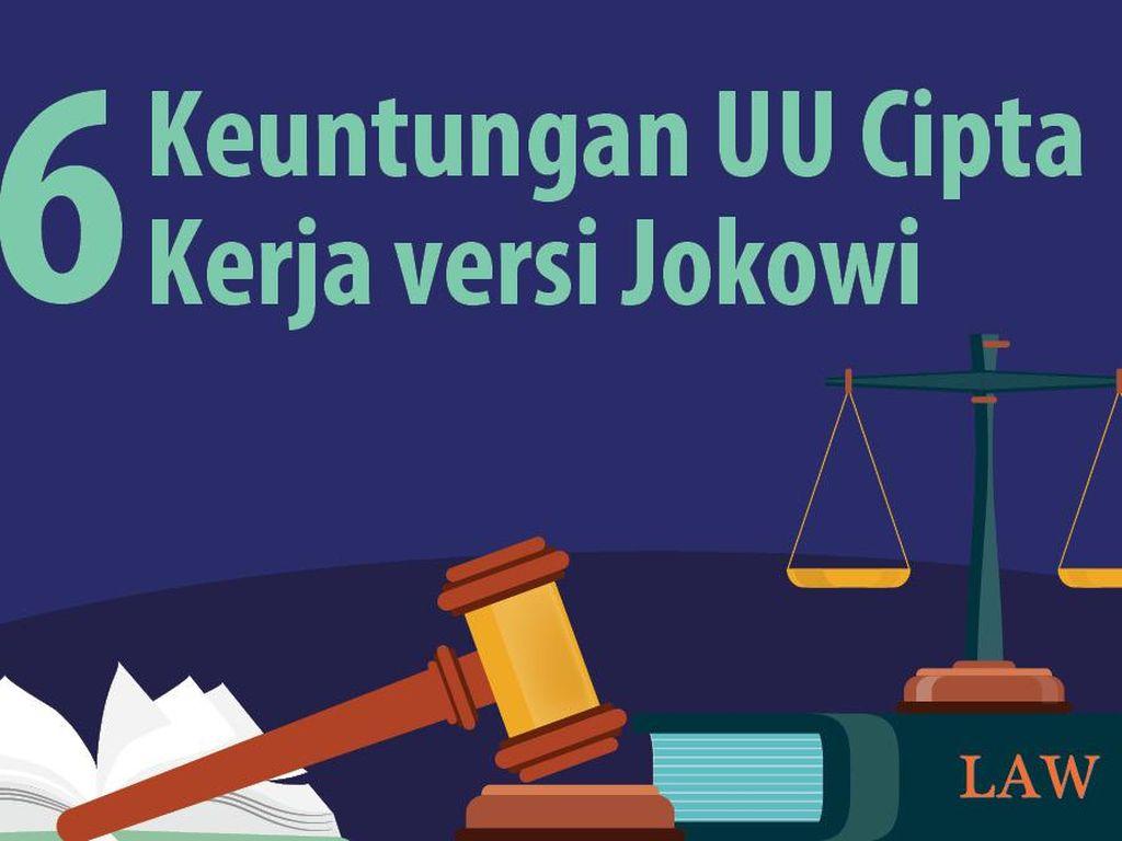 6 Keuntungan UU Cipta Kerja versi Jokowi