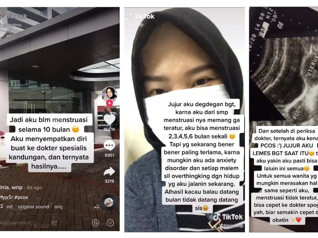 Viral Wanita Idap PCOS, Baru Ketahuan Setelah 10 Bulan Tidak Haid