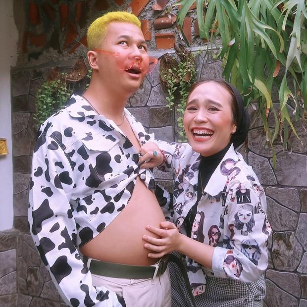 Ashilla Sikado dan pacar pasang pose lucu yang buat ngakak/instagram.com/ashillasikado