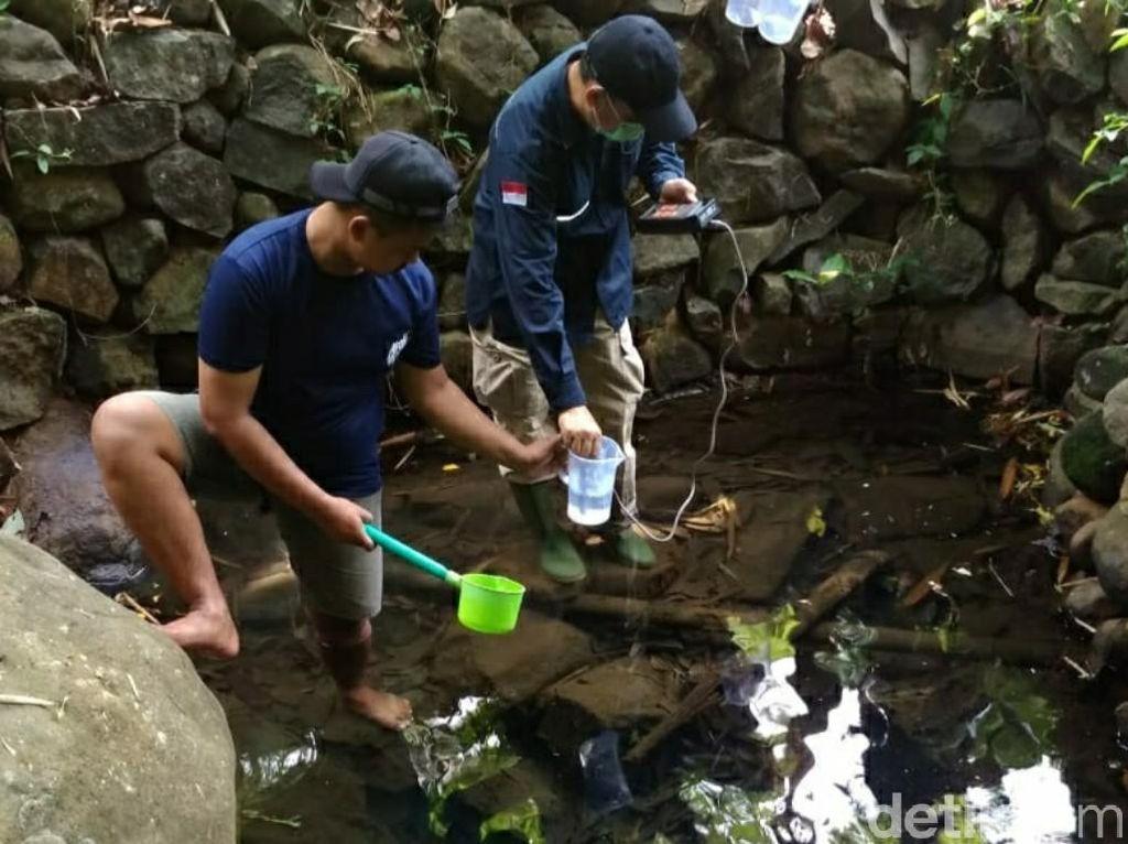 Badan Geologi Teliti Sumber Air Panas di Nanggewer Ciamis