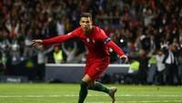 Lalu, Cristiano Ronaldo masing-masing menjebol gawang Armenia, Latvia, dan Luxembourg sebanyak lima kali (Getty Images)