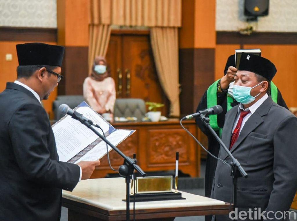 DPRD Banyuwangi Lantik Anggota Dewan Pengganti Cawabup Sugirah