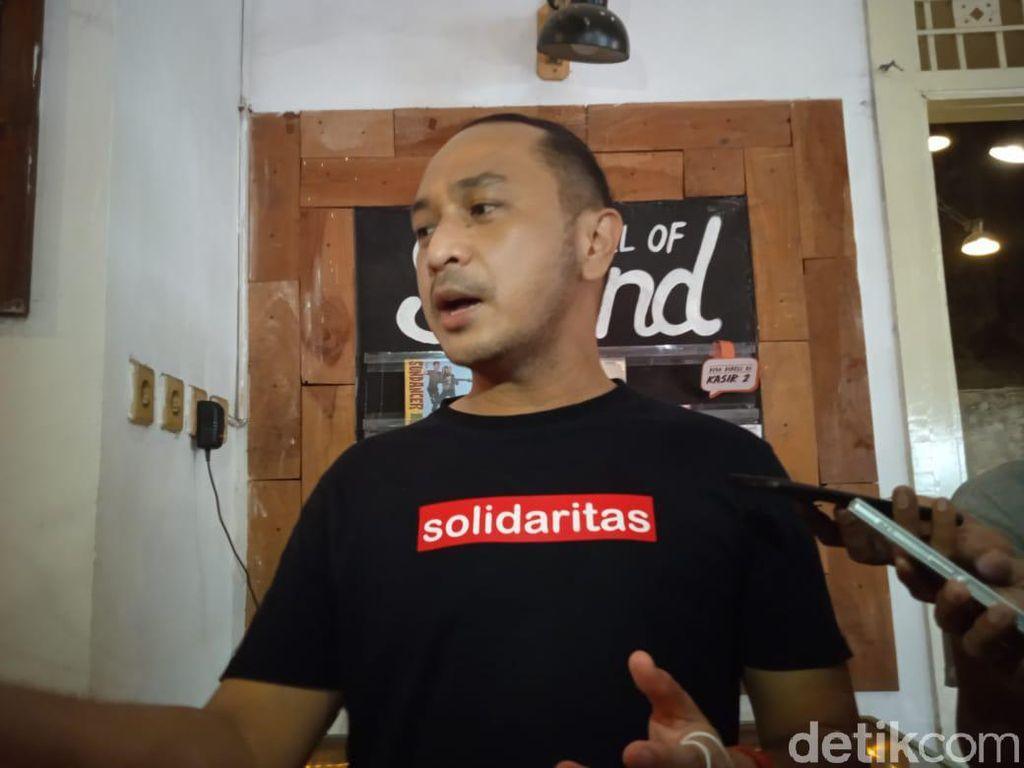 Giring Dukung Kebijakan Pangdam Jaya Copoti Baliho Habib Rizieq