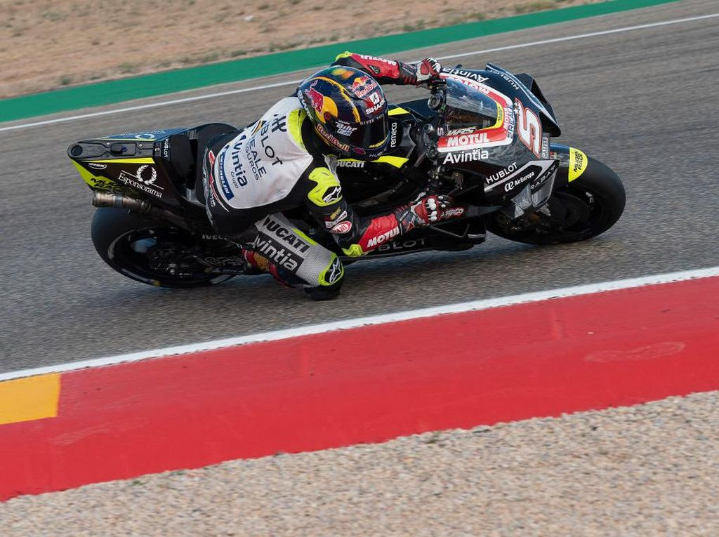 Hasil FP2 MotoGP Portugal: Giliran Zarco Jadi yang Tercepat