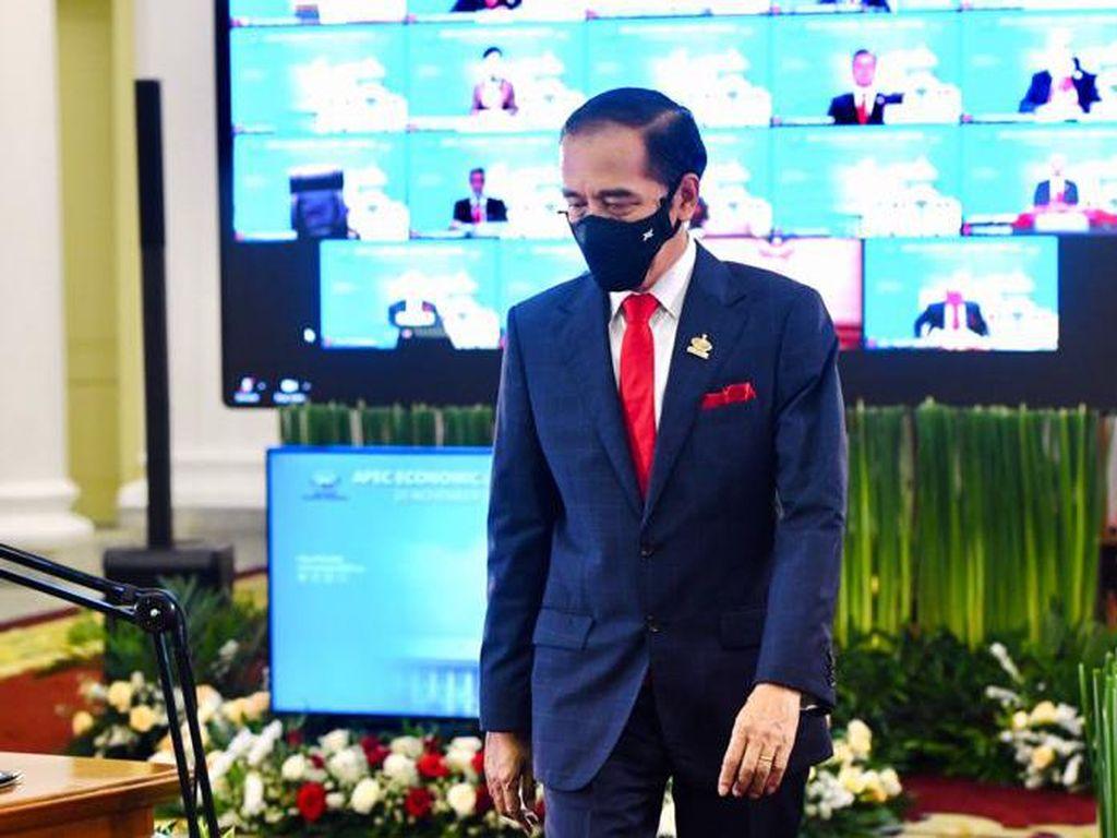 Jokowi: Perekonomian APEC Alami Kontraksi Hingga 2,7%