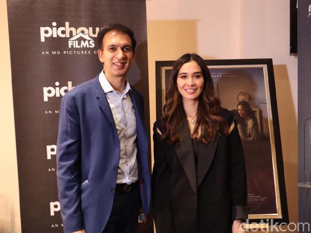 Main Film Asih 2, Marsha Timothy Buktikan Tak Anti Horor