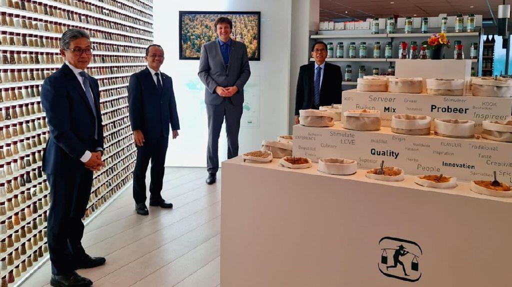 Momen Kepala BKPM Kunjungi Produsen Pala Terbesar Dunia di Belanda