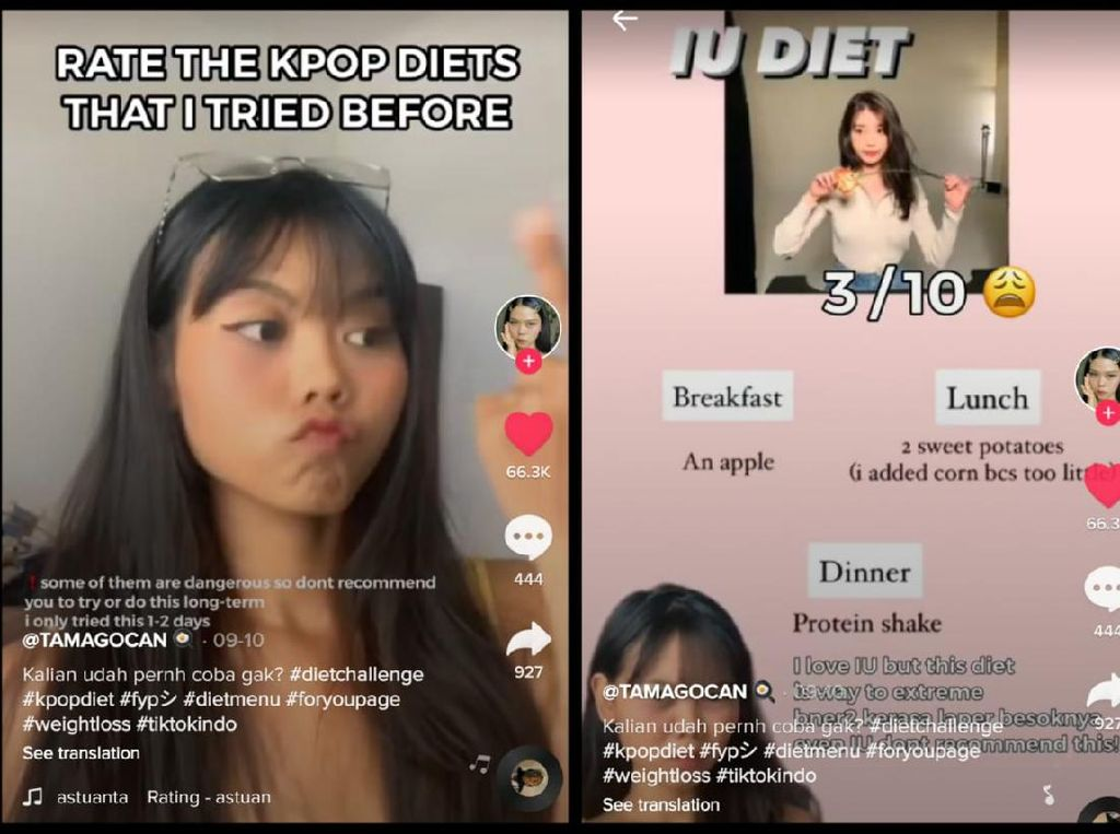 Netizen Coba 5 Diet Artis Korea, Mana yang Paling Efektif?