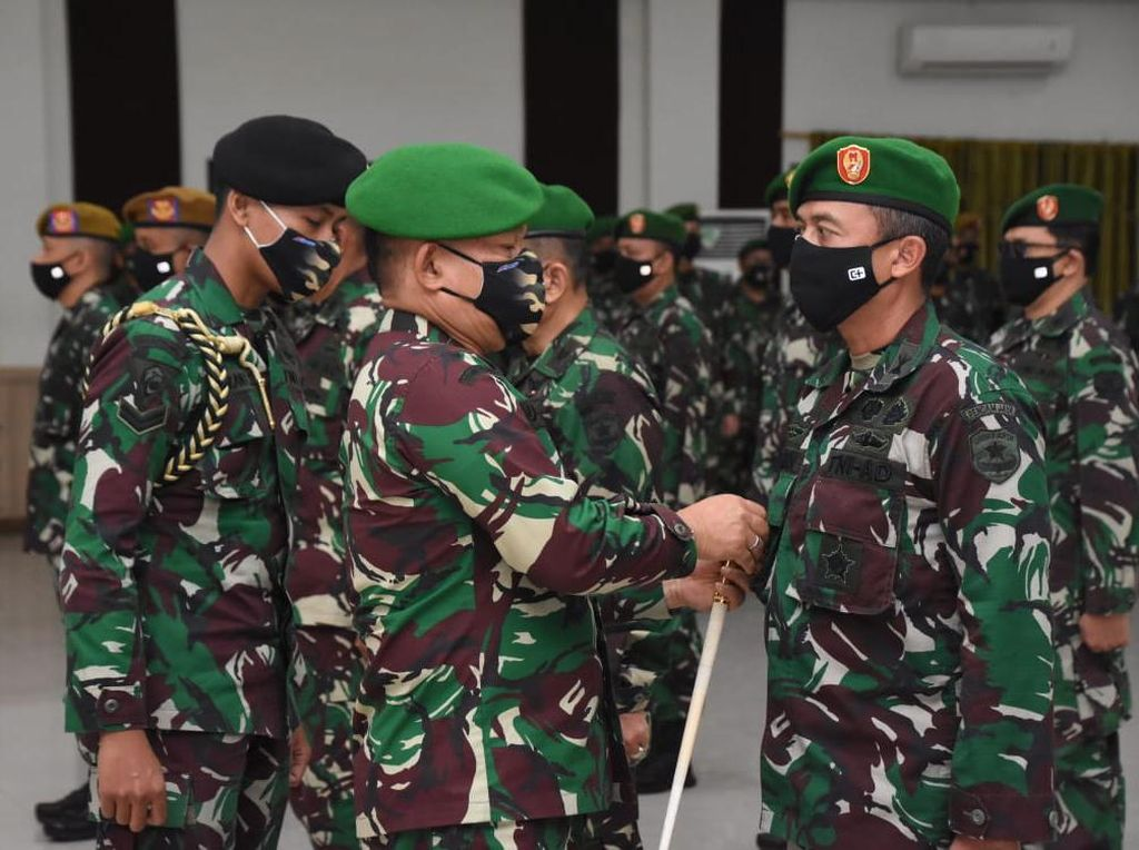 Sertijab Dipimpin Pangdam, Kapendam Jaya Dijabat Letkol Herwin