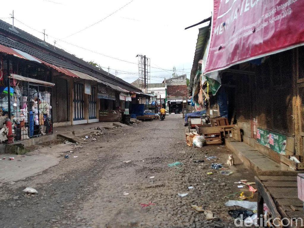 Pedagang Meninggal Akibat Corona, Aktivitas Pasar Pangandaran Dibatasi