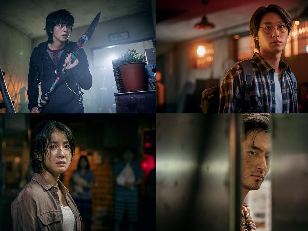 Song Kang Dikejar Monster di Drama Korea Sweet Home