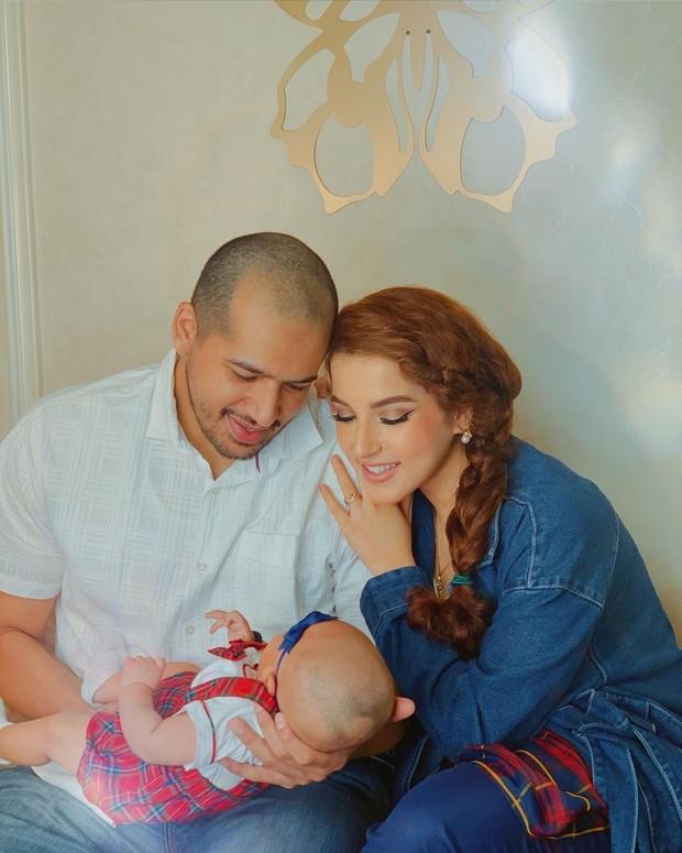 Tasya Farasya dan baby Maryam jalani pemotretan keluarga/instagram.com/tasyafarasya