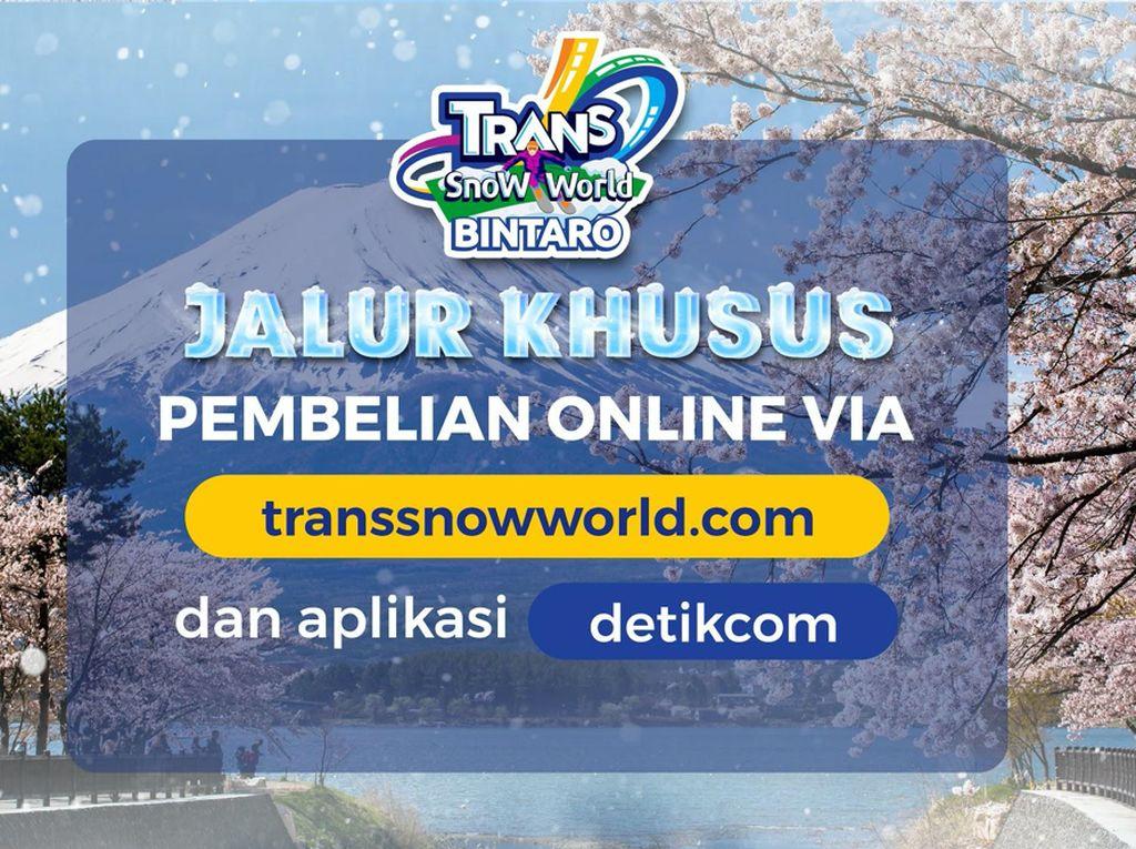 Ssst! Ini Jalur Khusus Trans Snow World Bintaro biar Enggak Antre