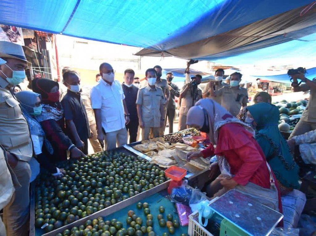 Dulu Dicegat Preman, Andre Rosiade Kembali Kunjungi Pasar Sungai Rumbai