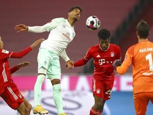 Bayern Munich Vs Werder Bremen: Die Roten Diimbangi 1-1