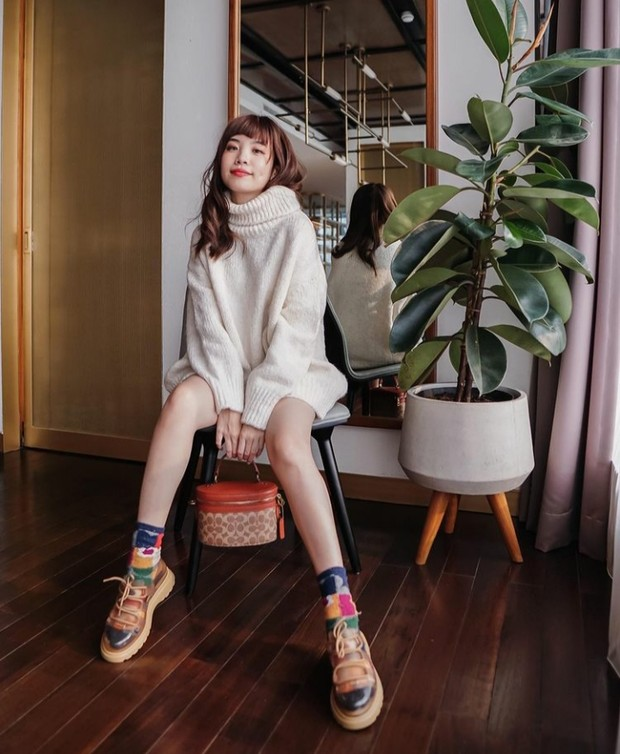 8 Inspirasi Gaya Korea ala Influencer Stevie Wong