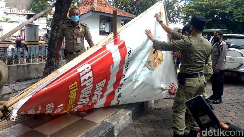 Giliran Semarang yang Turunkan Baliho Habib Rizieq
