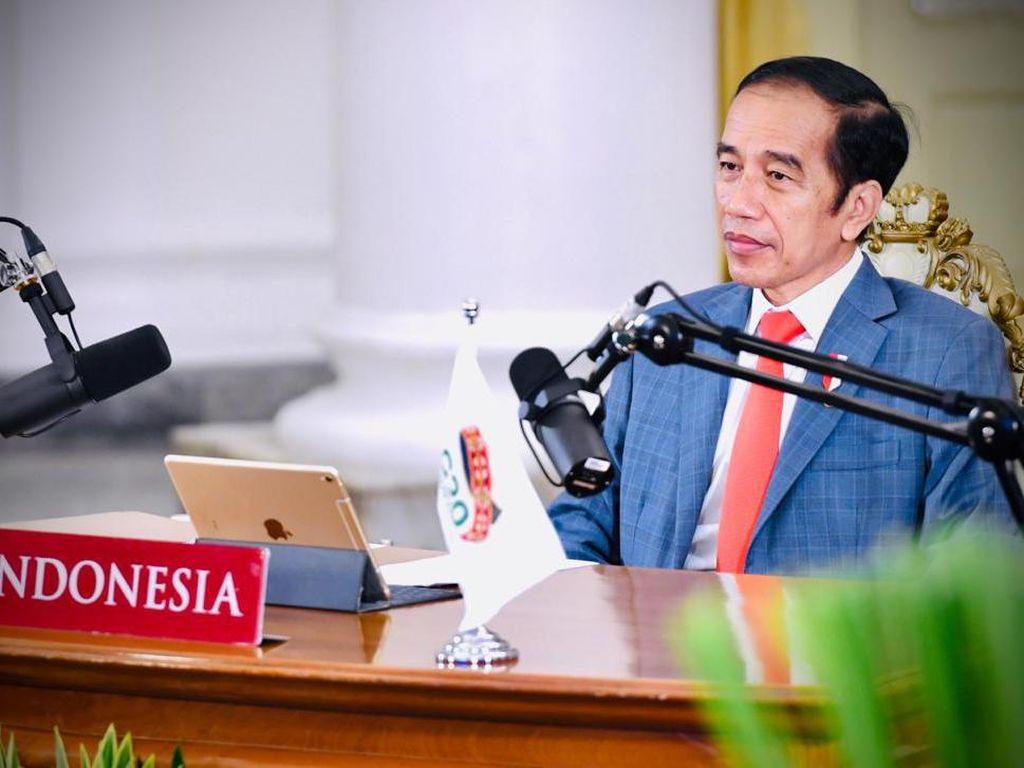 Jokowi Hadiri KTT G20 2020 Secara Virtual