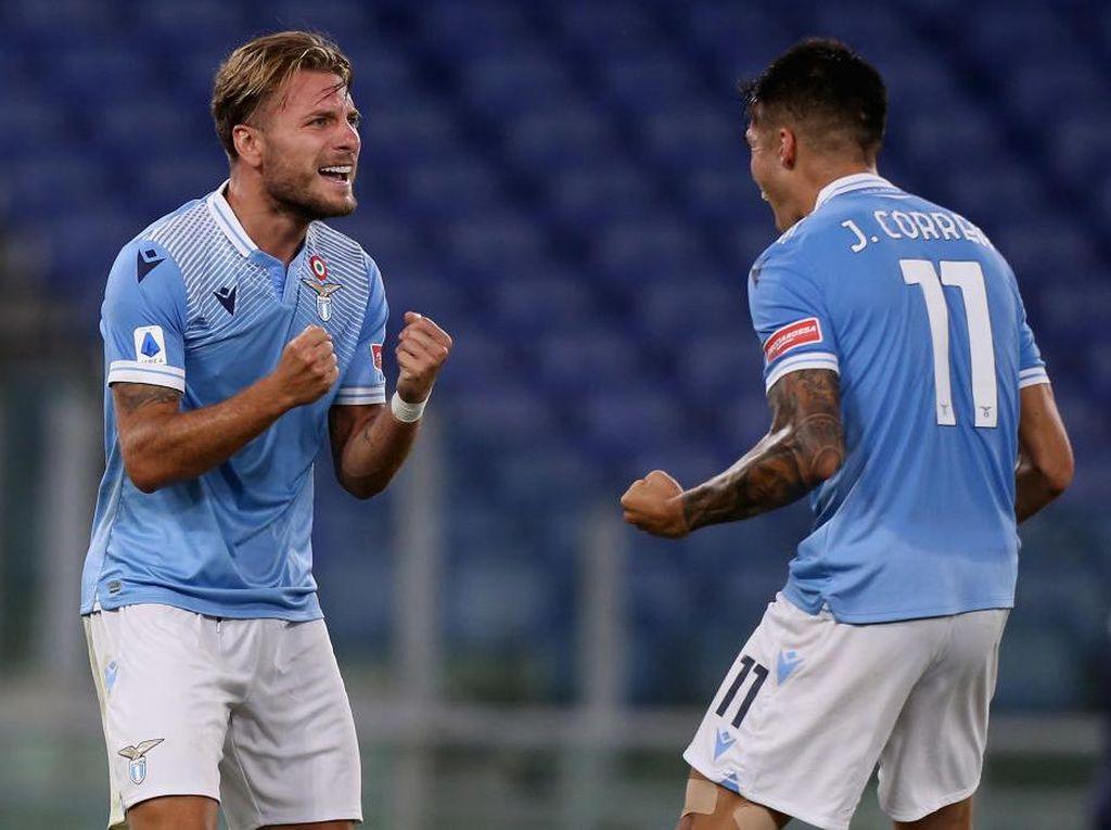 Crotone Vs Lazio: Immobile Cetak Gol, Biancoceleste Menang 2-0